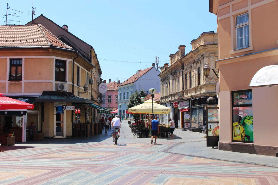 Tuzla Bosnia Stari Grad
