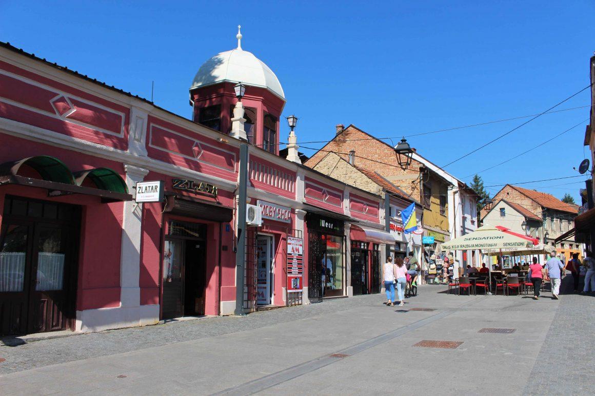 Gradsla building Tuzla