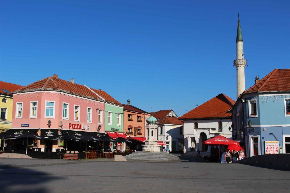 Tuzla square Bosnia