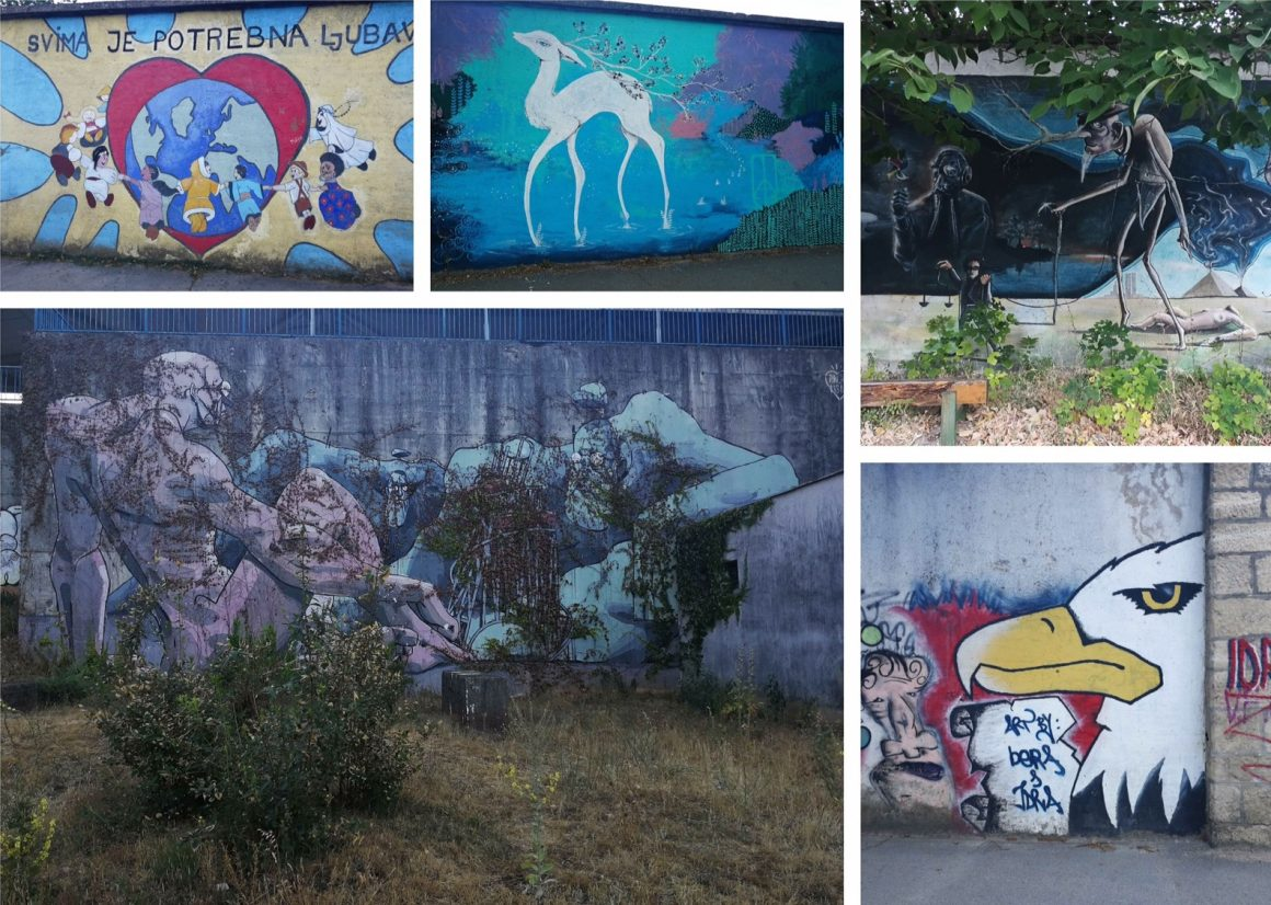 Mostar Street art busstation