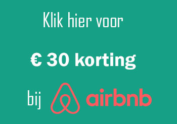 Airbnb 30 euro korting