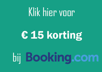 Booking 15 euro korting