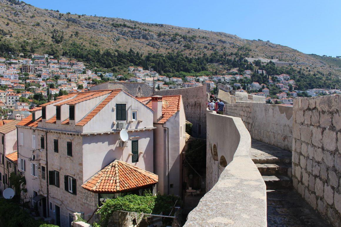 Dubrovnik Kroatie Muur