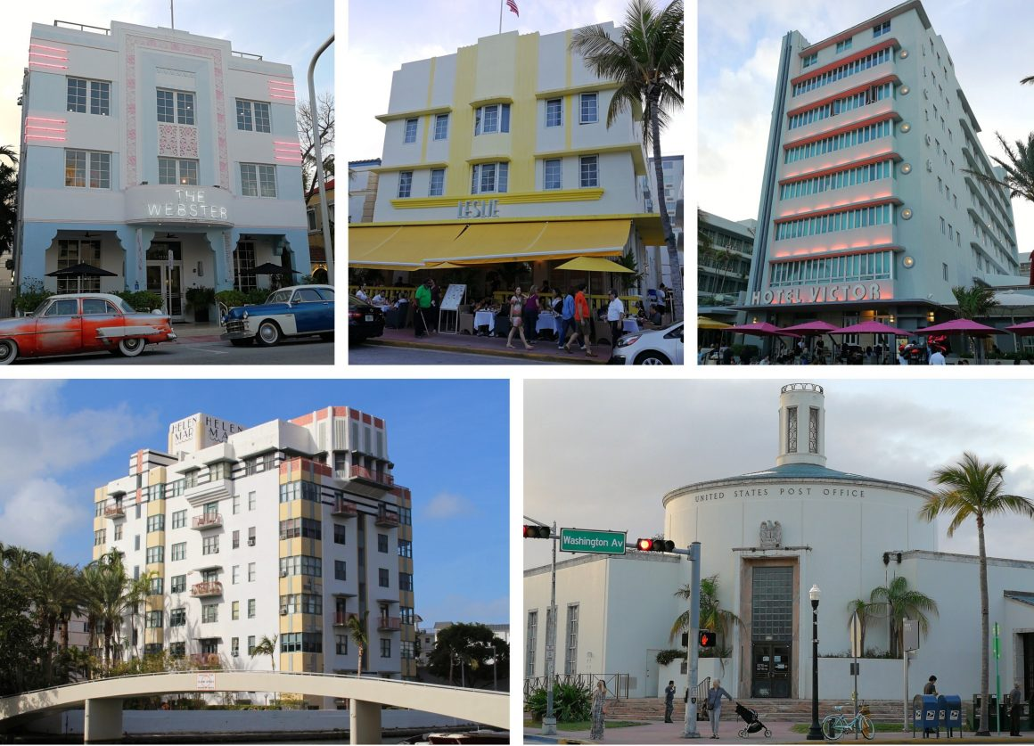 Art Deco Miami Beach USA