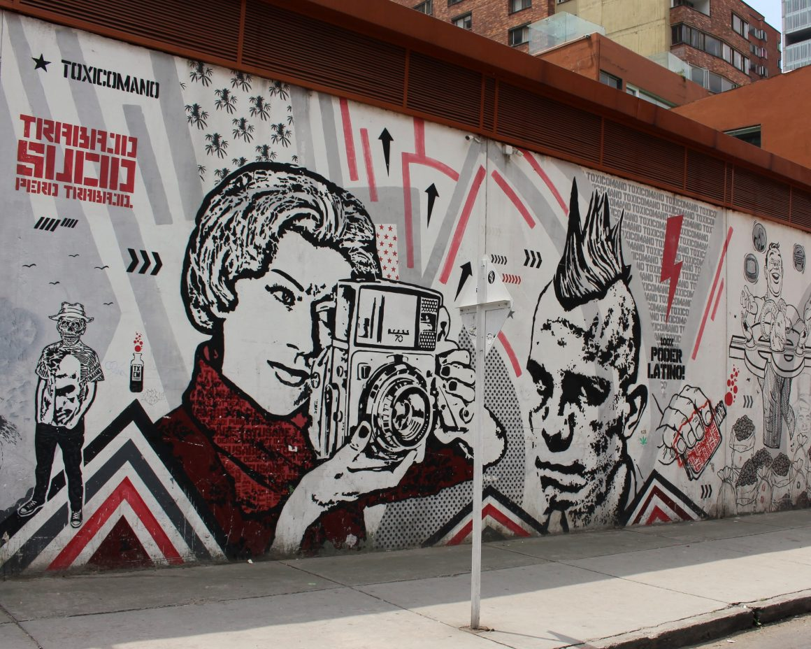Bogota street art Bogota