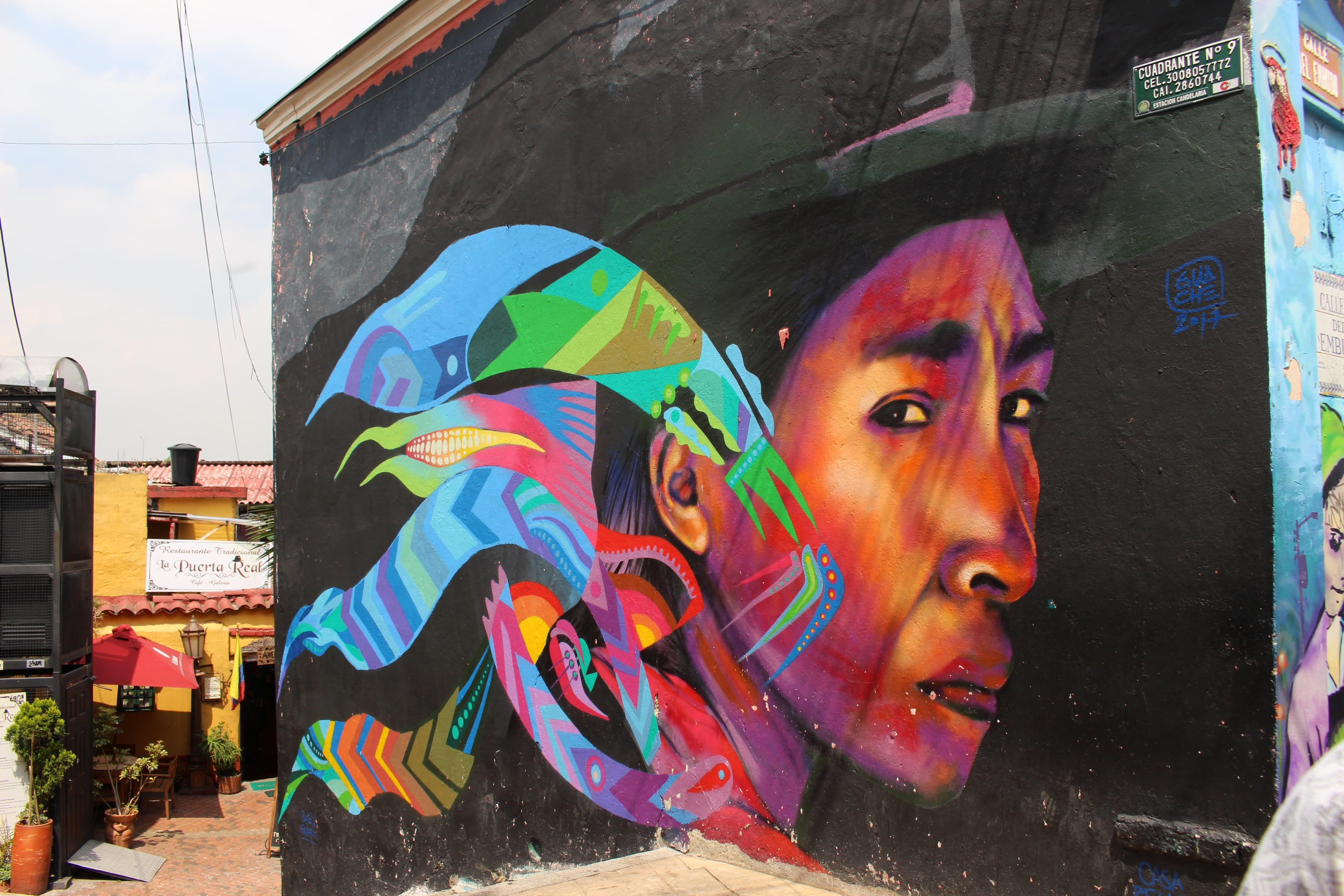 Bogotá: street art achterna in de Colombiaanse hoofdstad