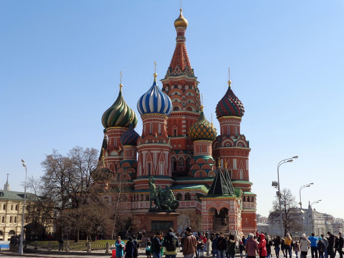Moscow Basilius cathedral