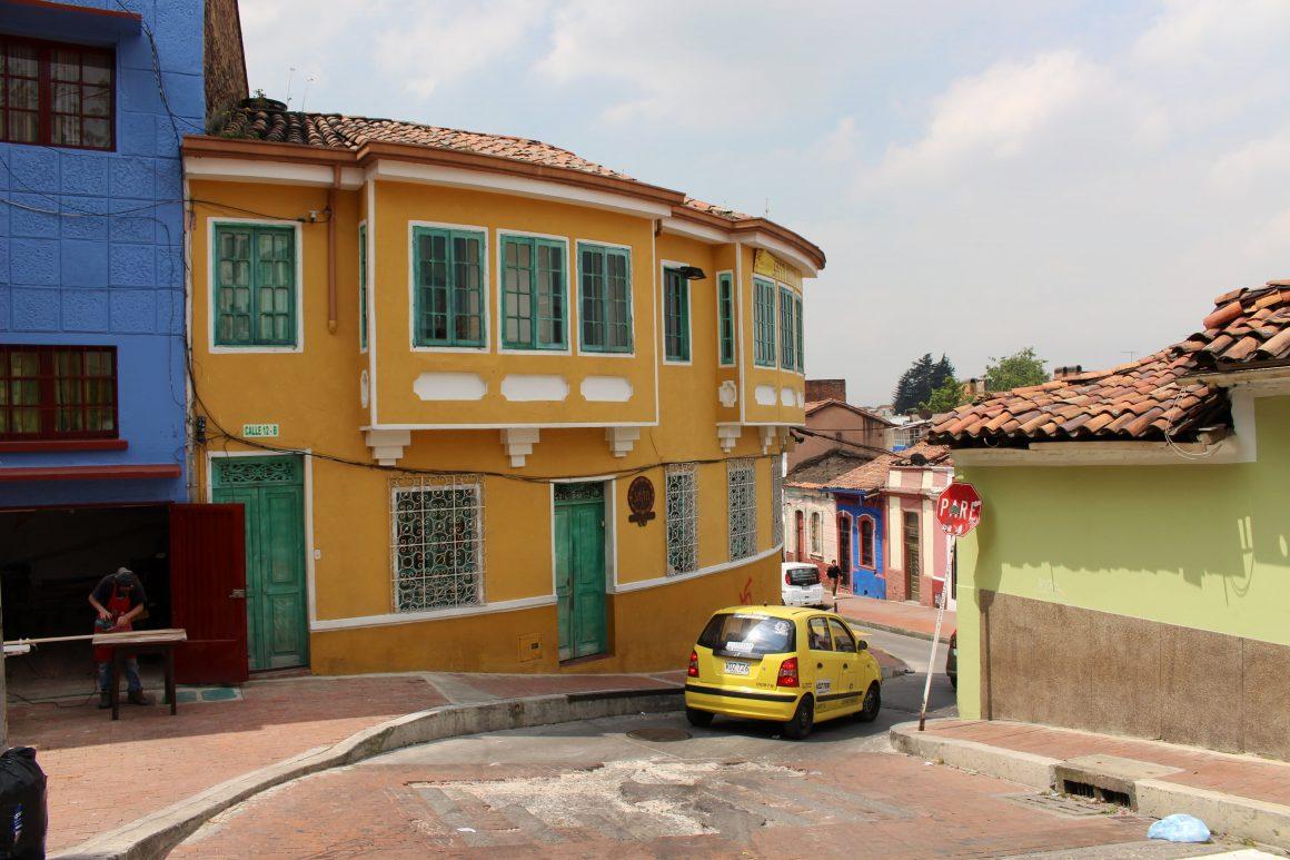 Bogota colombia La Candelaria