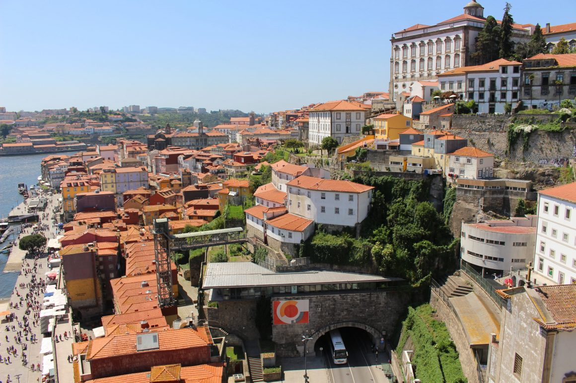View from Ponte Dom Luis I