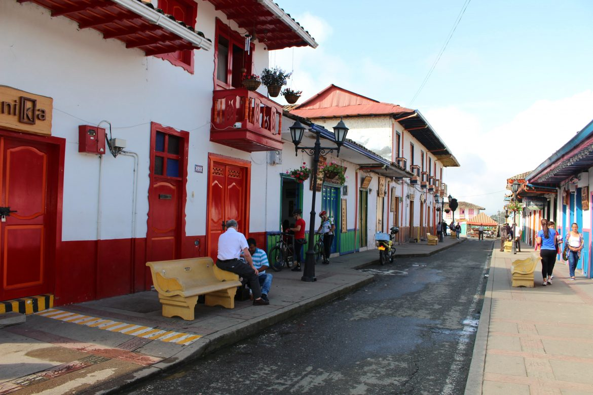 Calle Real Colombia Salento