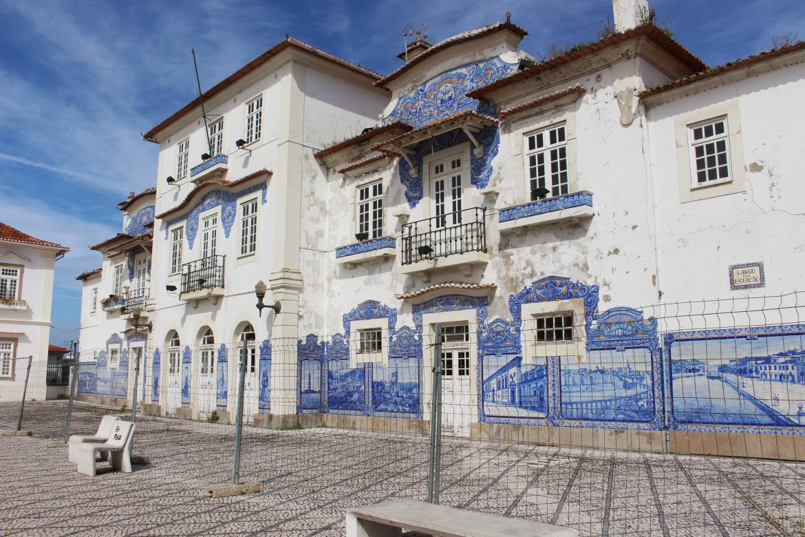 Train station of Aveiro