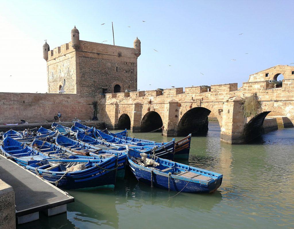 Essaouira Morocco fishers