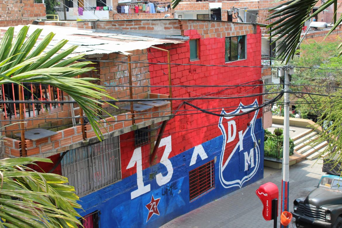 Comuna 13 in Colombia