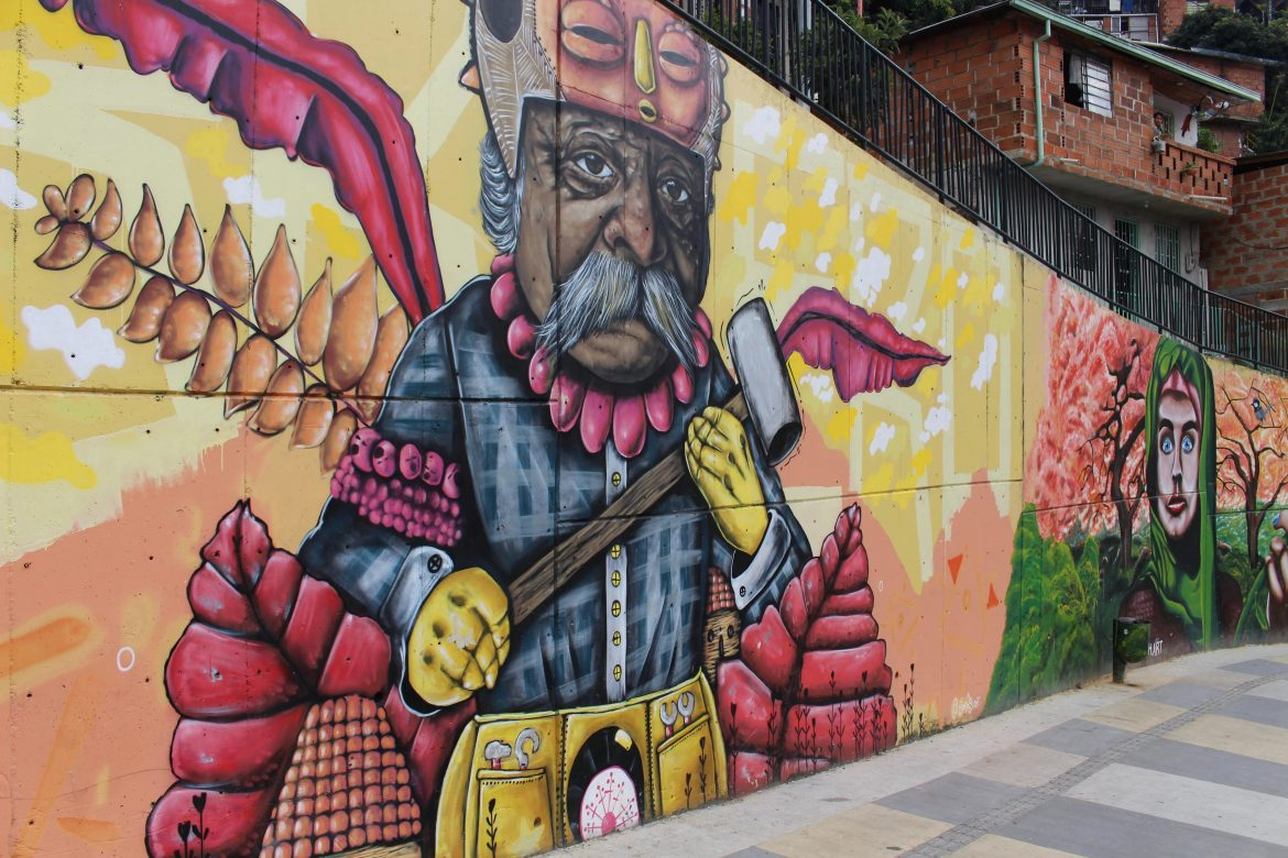 Wall painting Comuna 13