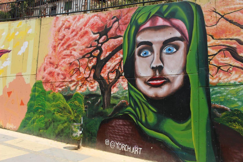 Wallpainting Medellin Comuna 13