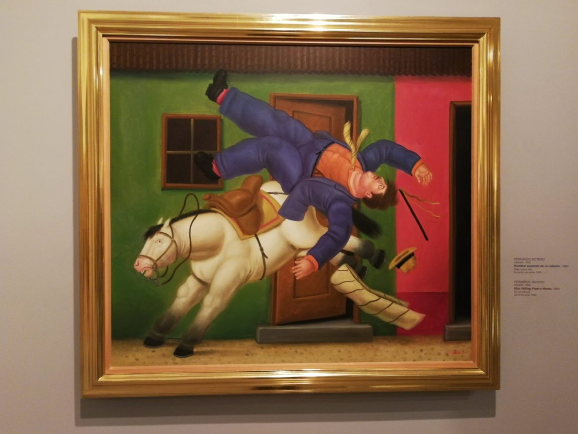 Botero painting Medellin Colombia