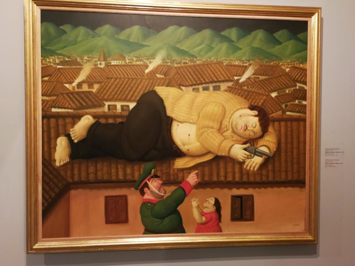 Botero painting Medellin
