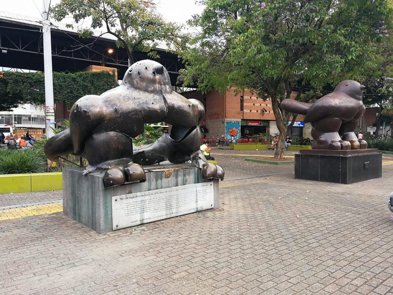 Botero park Medellin