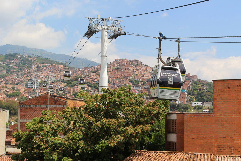 Kabelbaan in Medellin