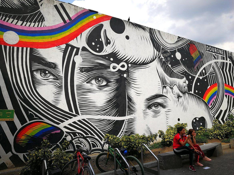Street art Colombia Medellin