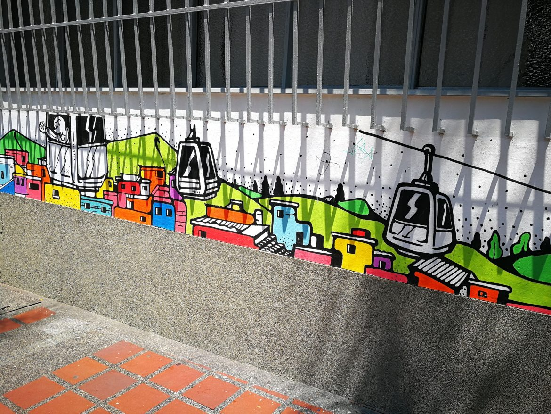 Street art in Medellin 4