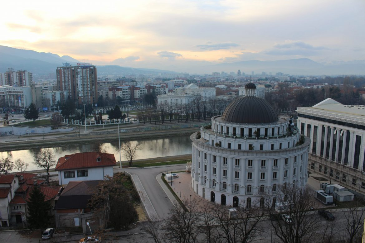 View from Fort Skopje