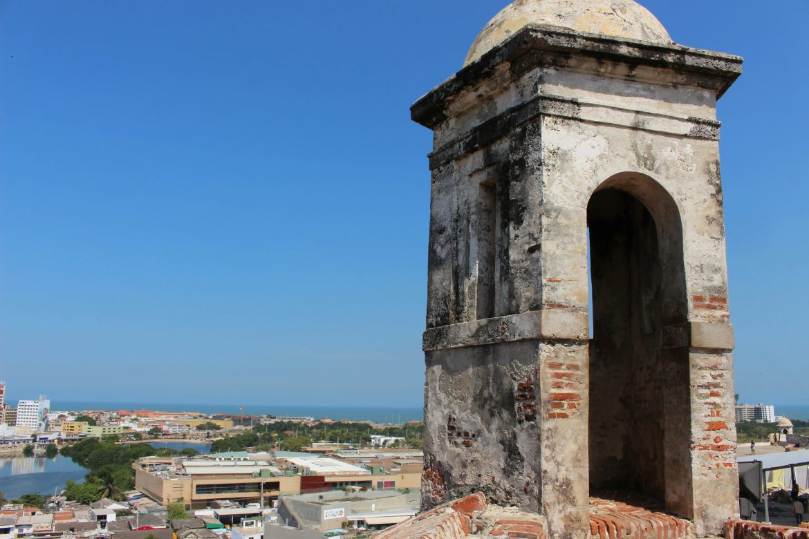 Castillo de San Felipe Cartagena tower