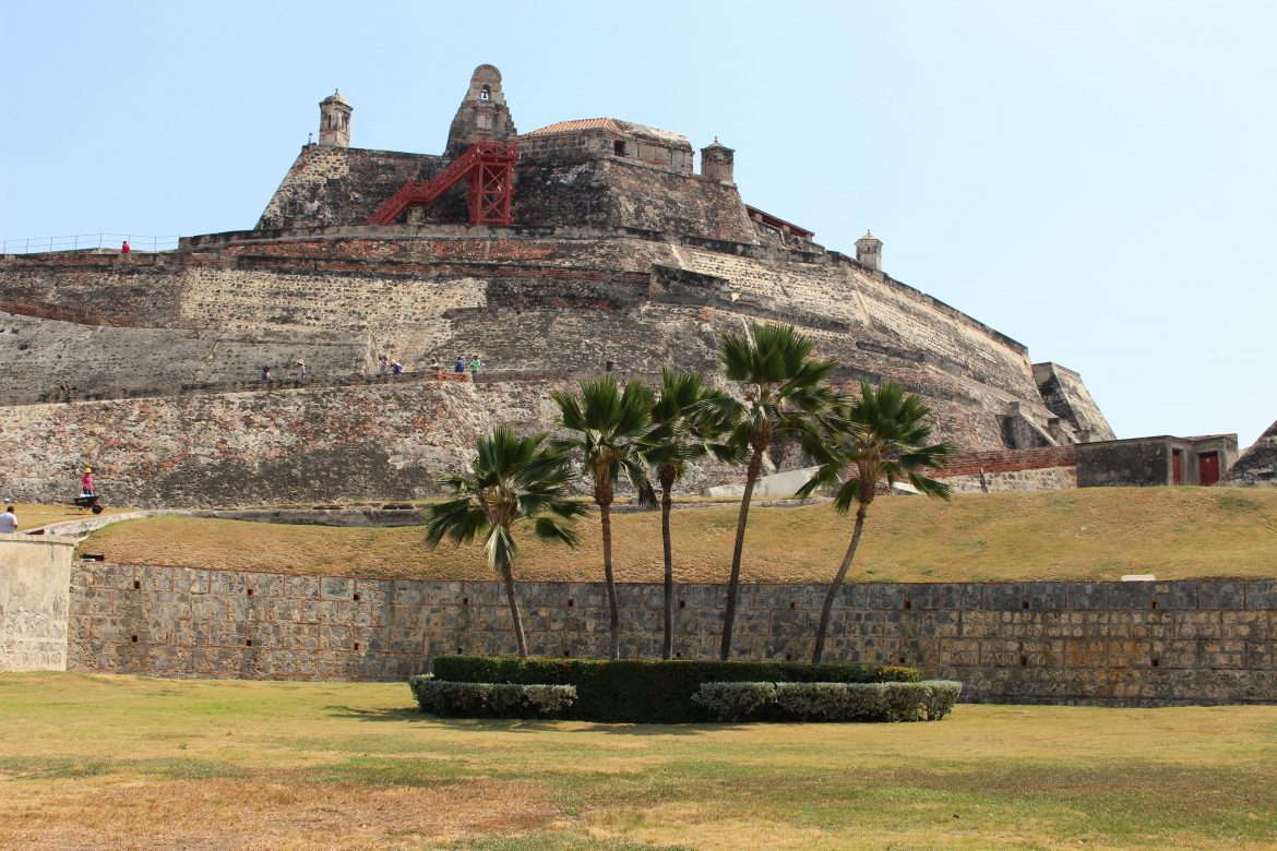 Castillo de San Felipe in Cartagena
