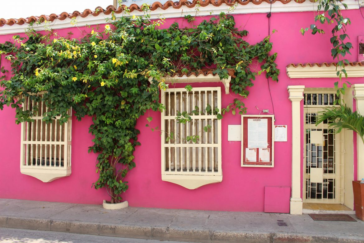Pink House Cartagena