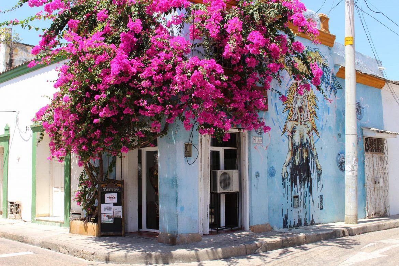 San Diego flower house Cartagena