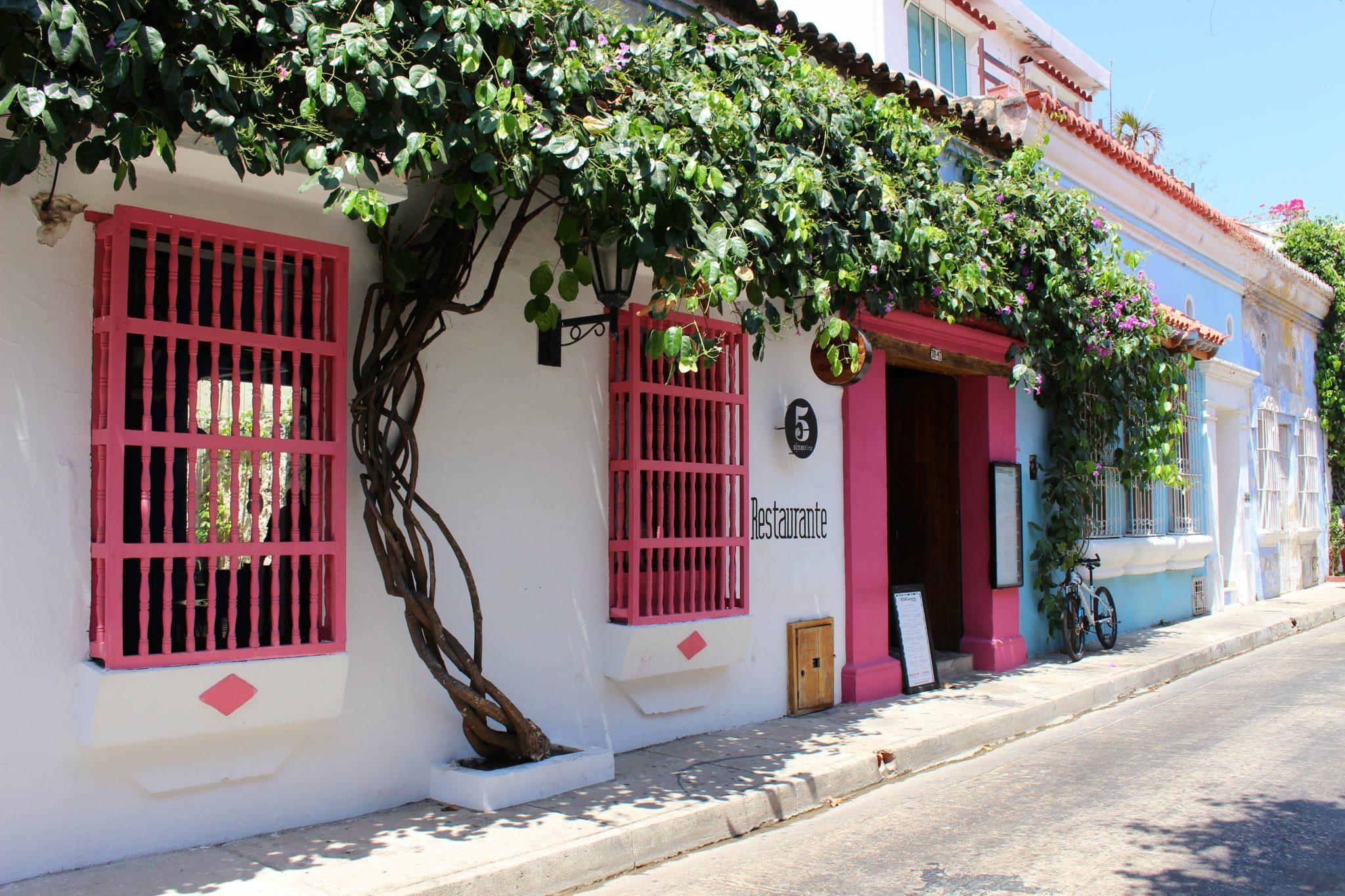 San Diego streets Cartagena