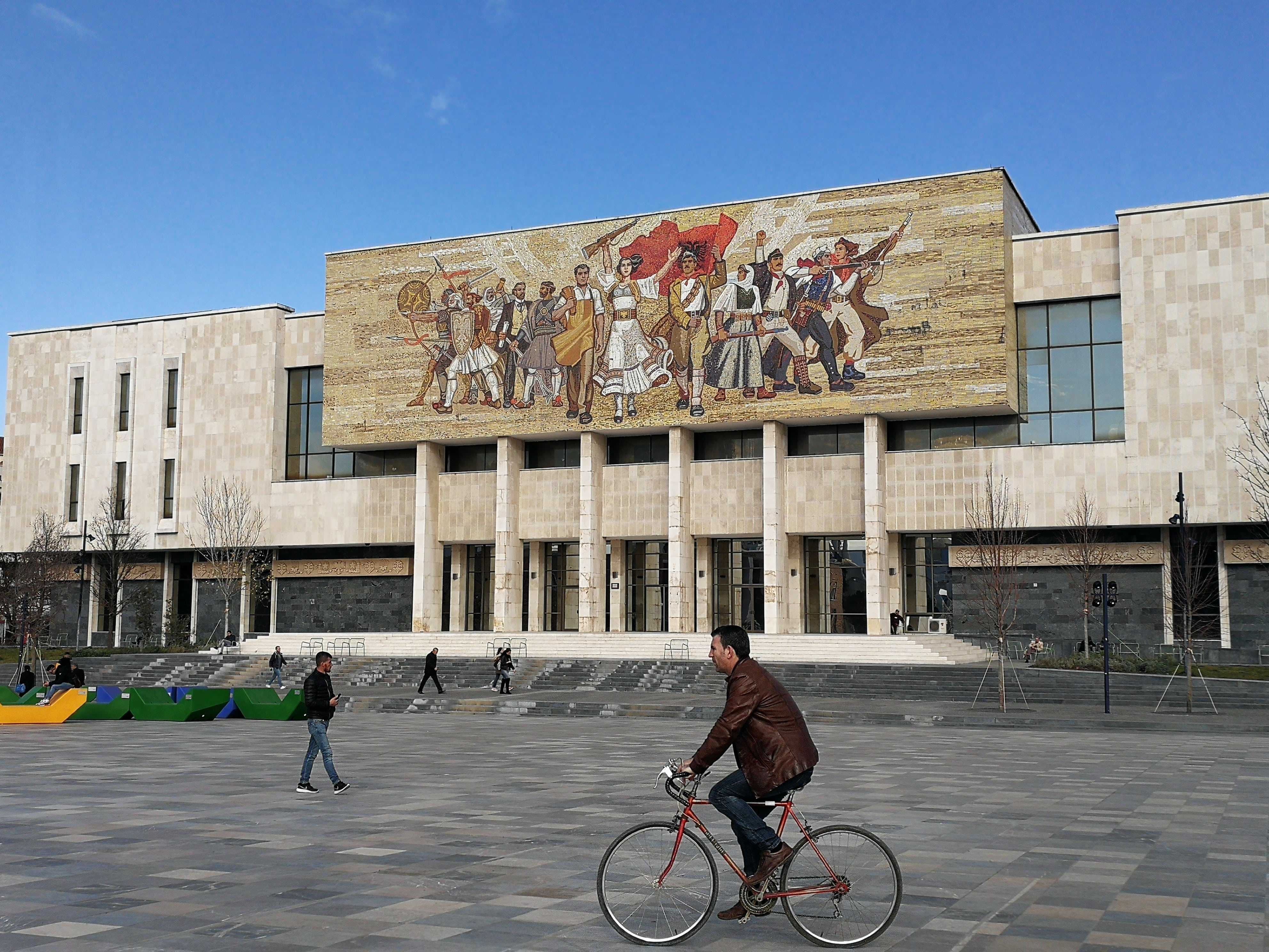 Skanderbeg plein Tirana