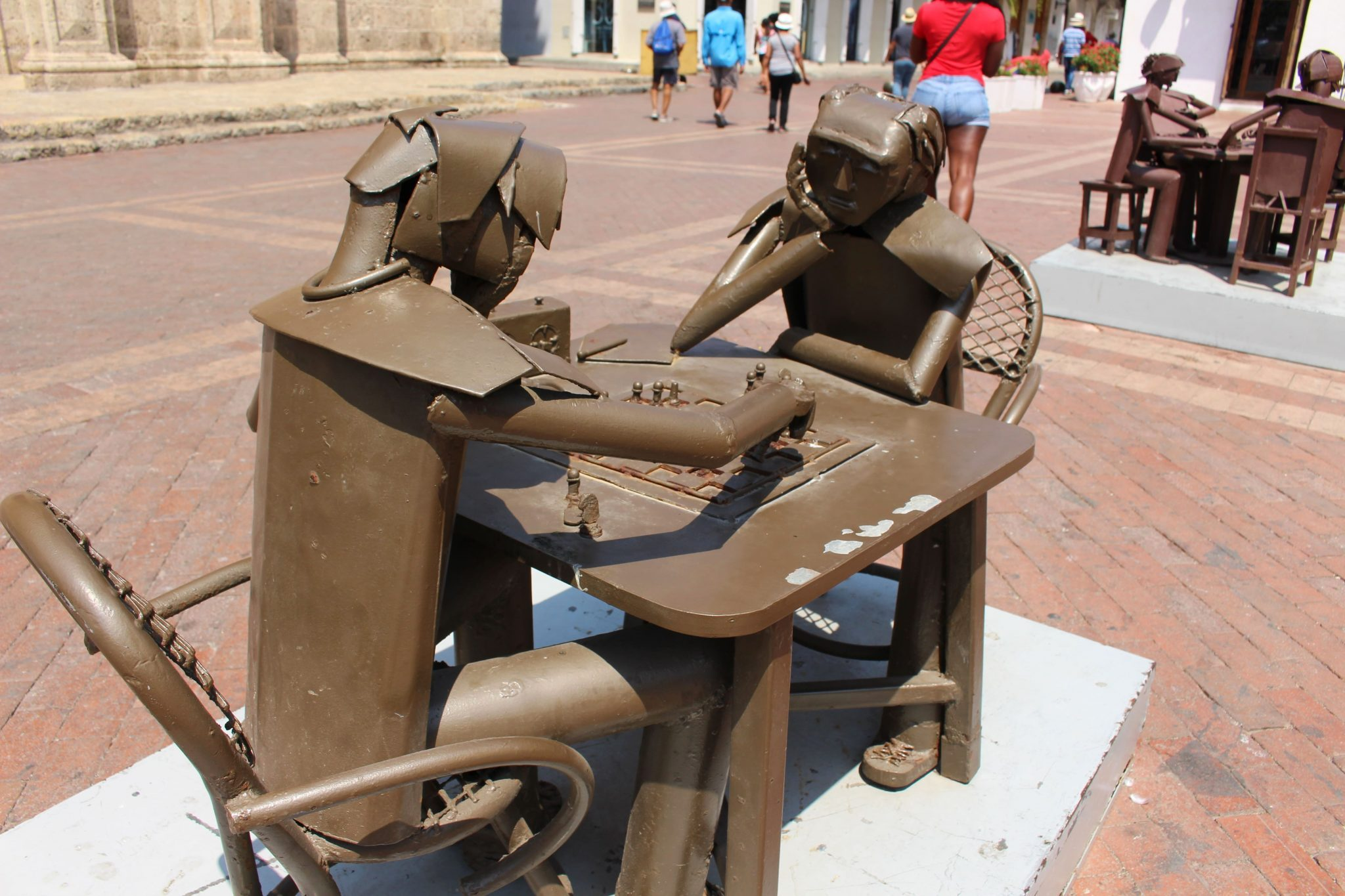 Statues El Centro Cartagena