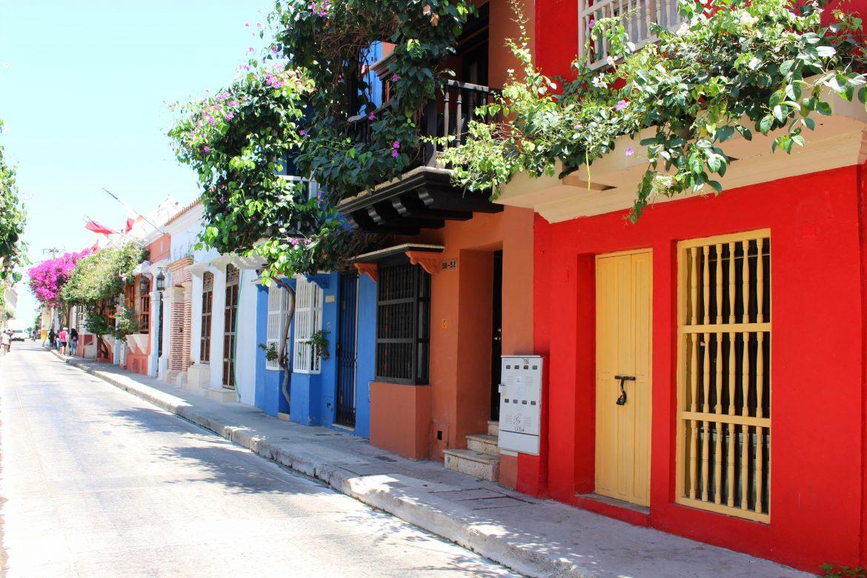 Streets in Cartagena San Diego