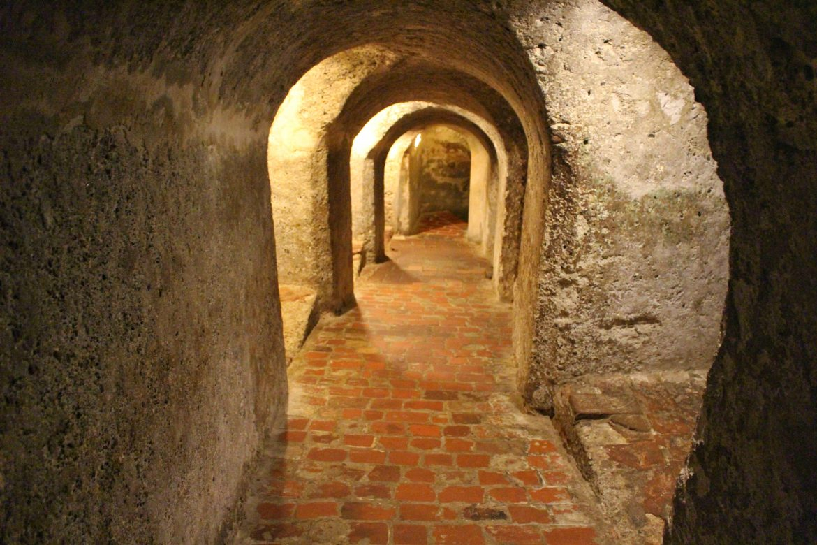 Tunnels fortress Cartagena