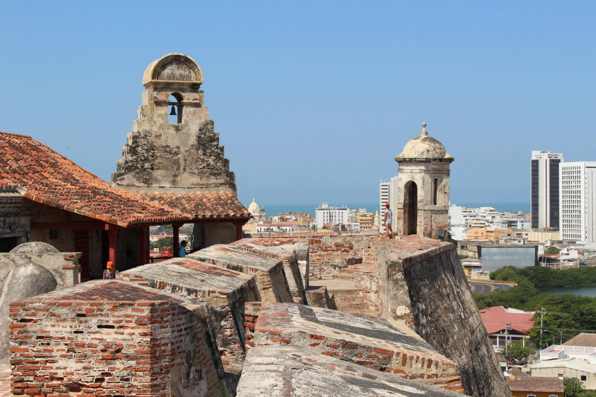 View fortress Cartagena