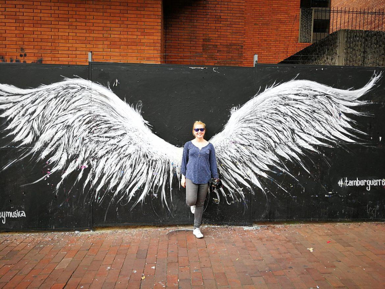 Esther op wereldreis street art