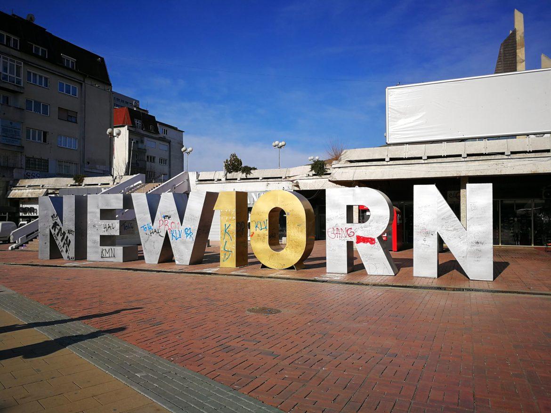 Newborn monument Pristina