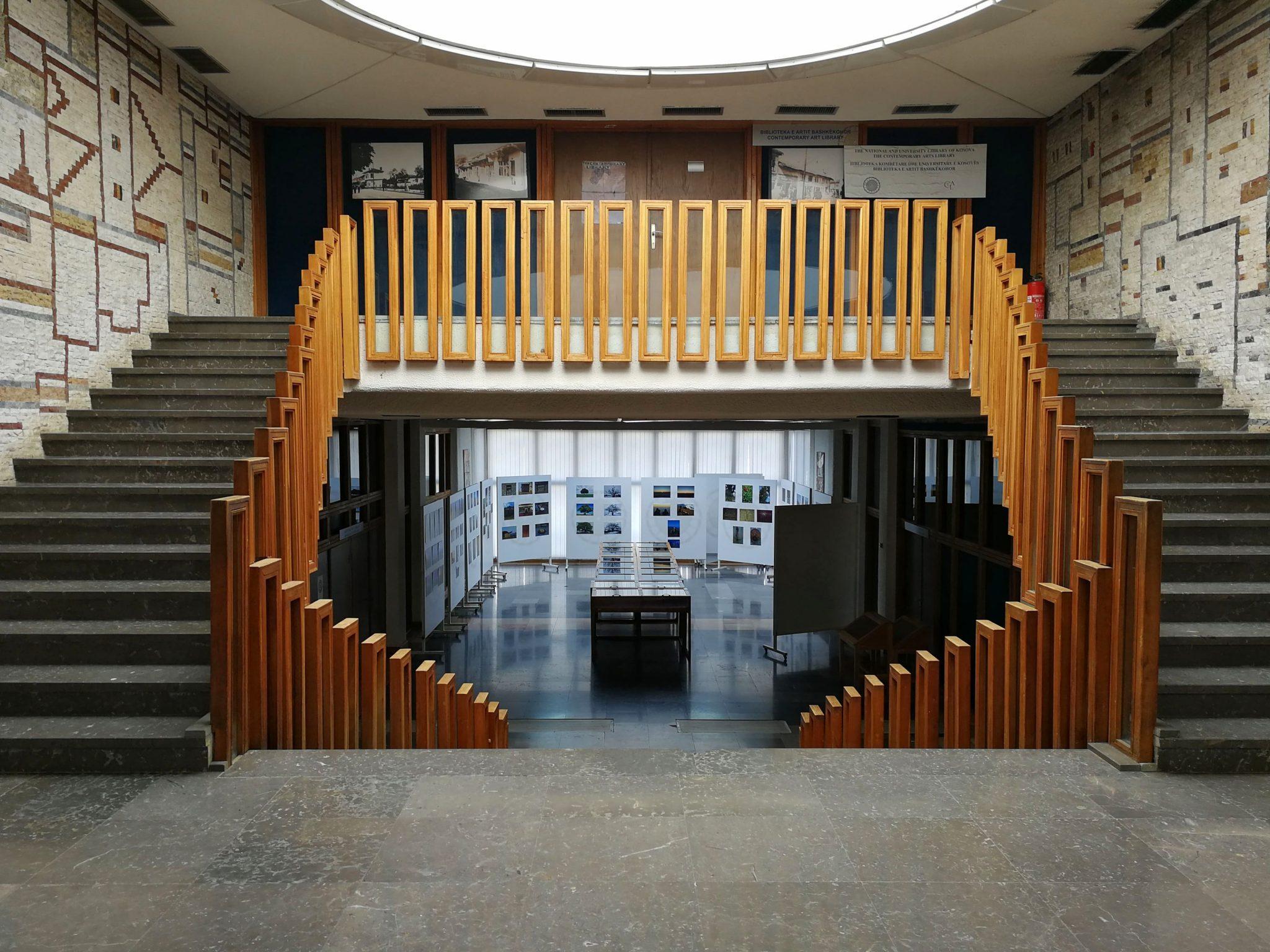 Stairs Pristina Library