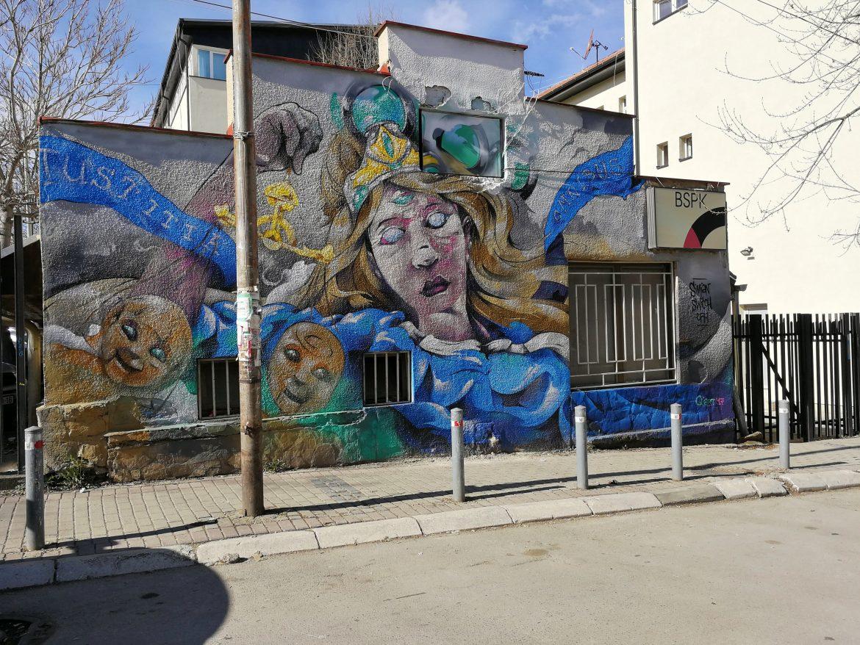 street art Pristina