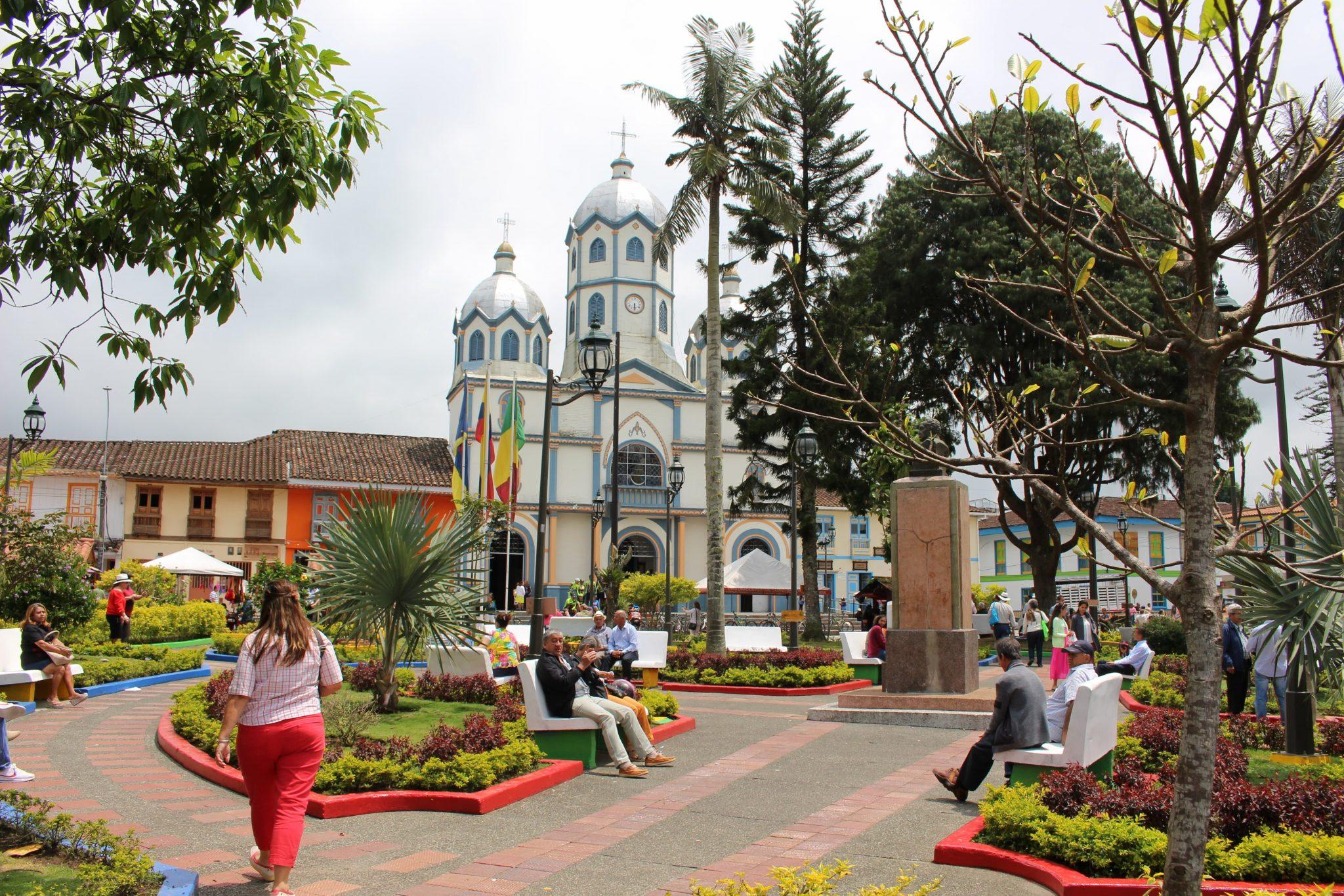 Filandia plein Colombia