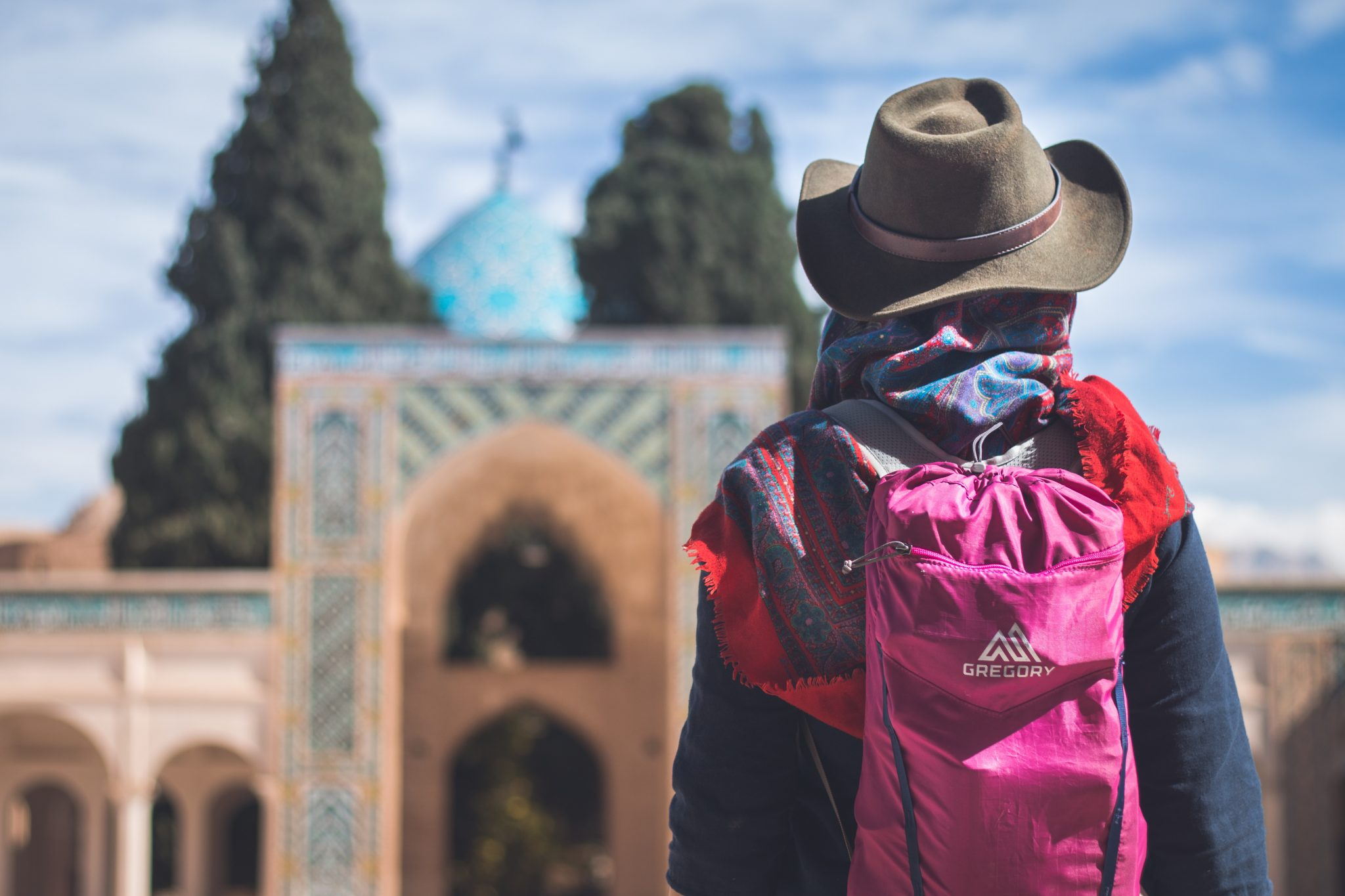 Backpacking silk road