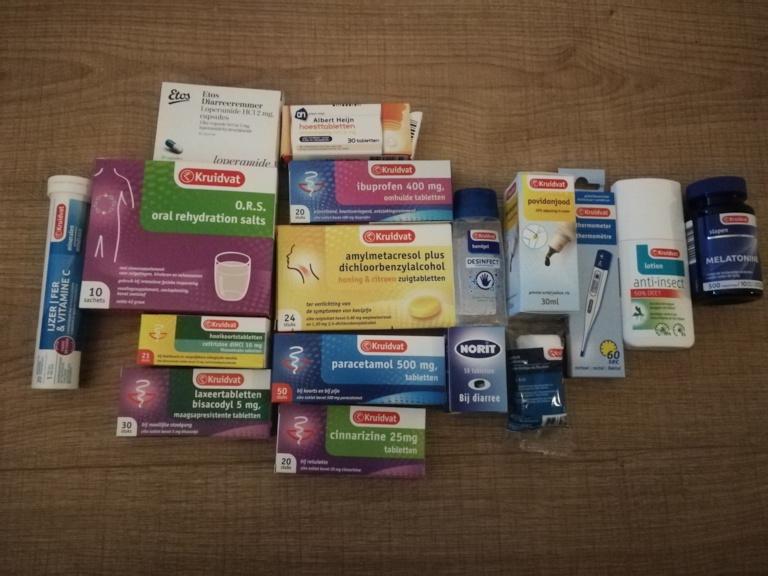 Medicijnen wereldreis