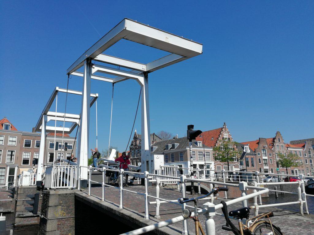Ophaalbrug Haarlem centrum