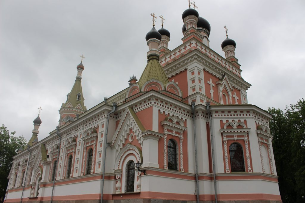 Church in Grodno Belarus