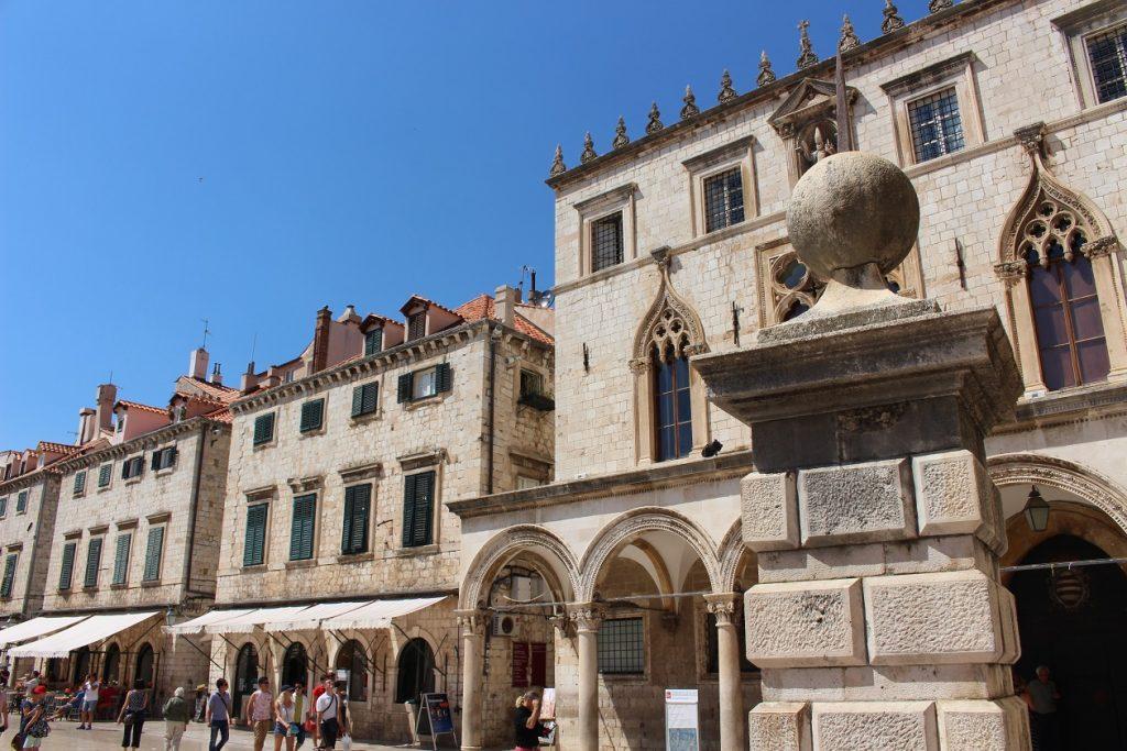 Dubrovnik Kroatie plein