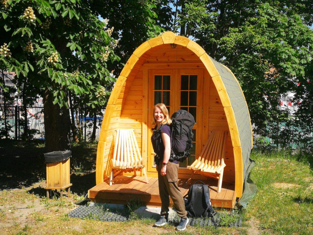 Esther op camping Vilnius