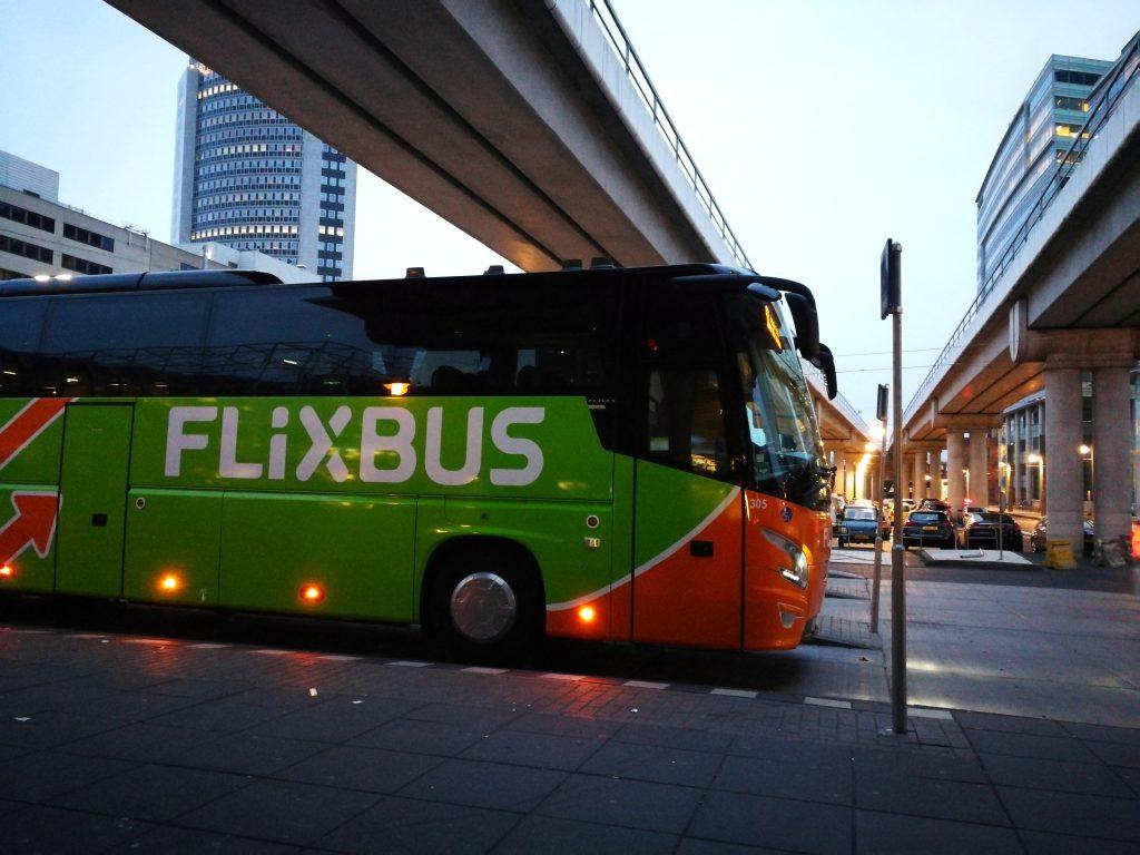 Flixbus naar Praag wereldreis