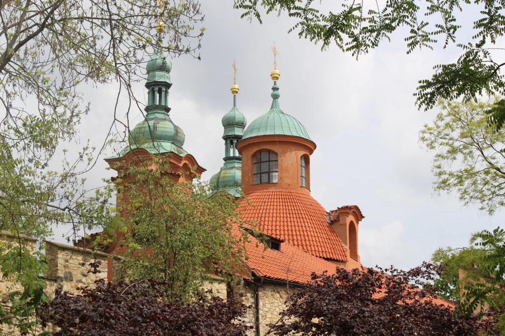 Heuvel kerk Praag Tsjechie