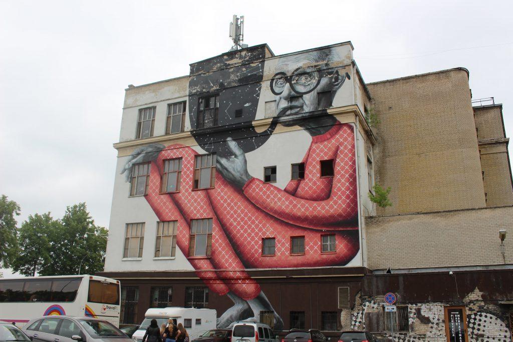 Kaunas street art Litouwen